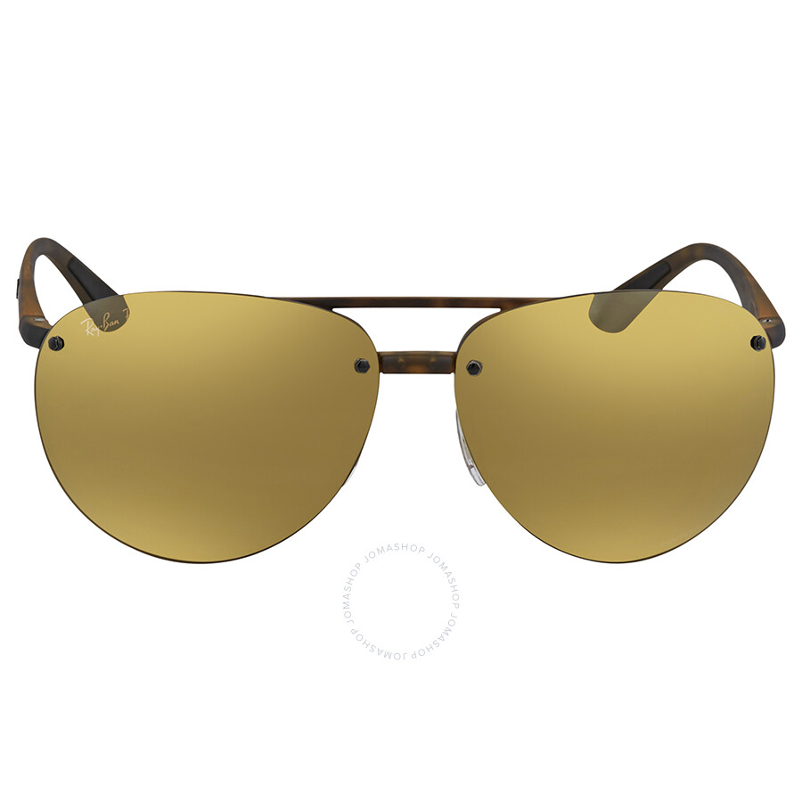 9f9a0312266 ... Ray Ban Polarized Bronze Mirror Chromance Aviator Sunglasses RB4293CH  894 A3 64 ...
