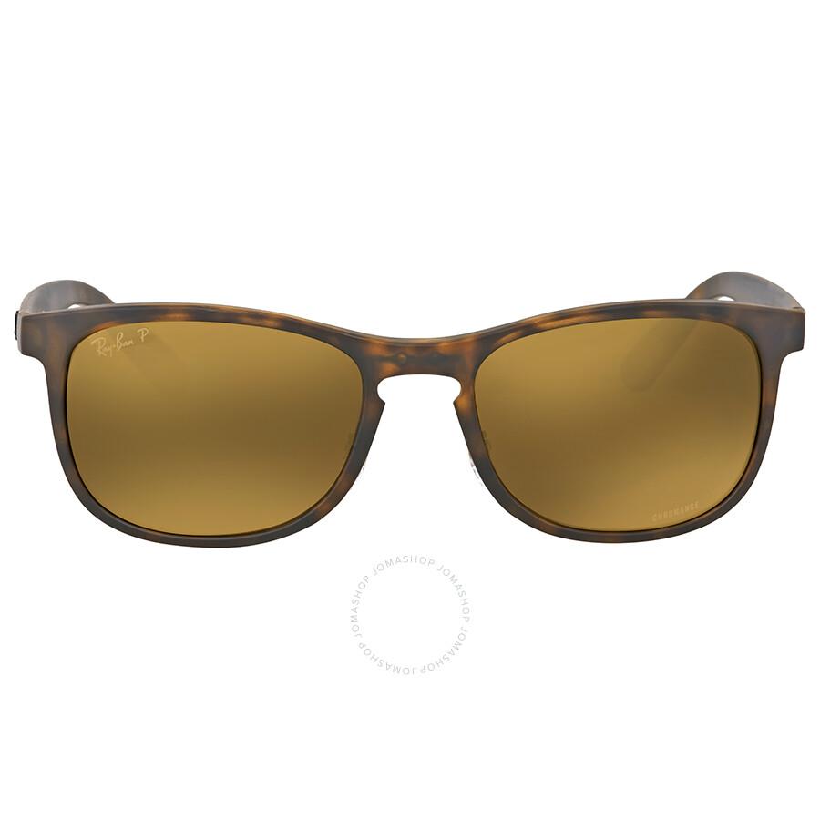 Ray ban polarized bronze mirror chromance sunglasses ray for Mirror sunglasses