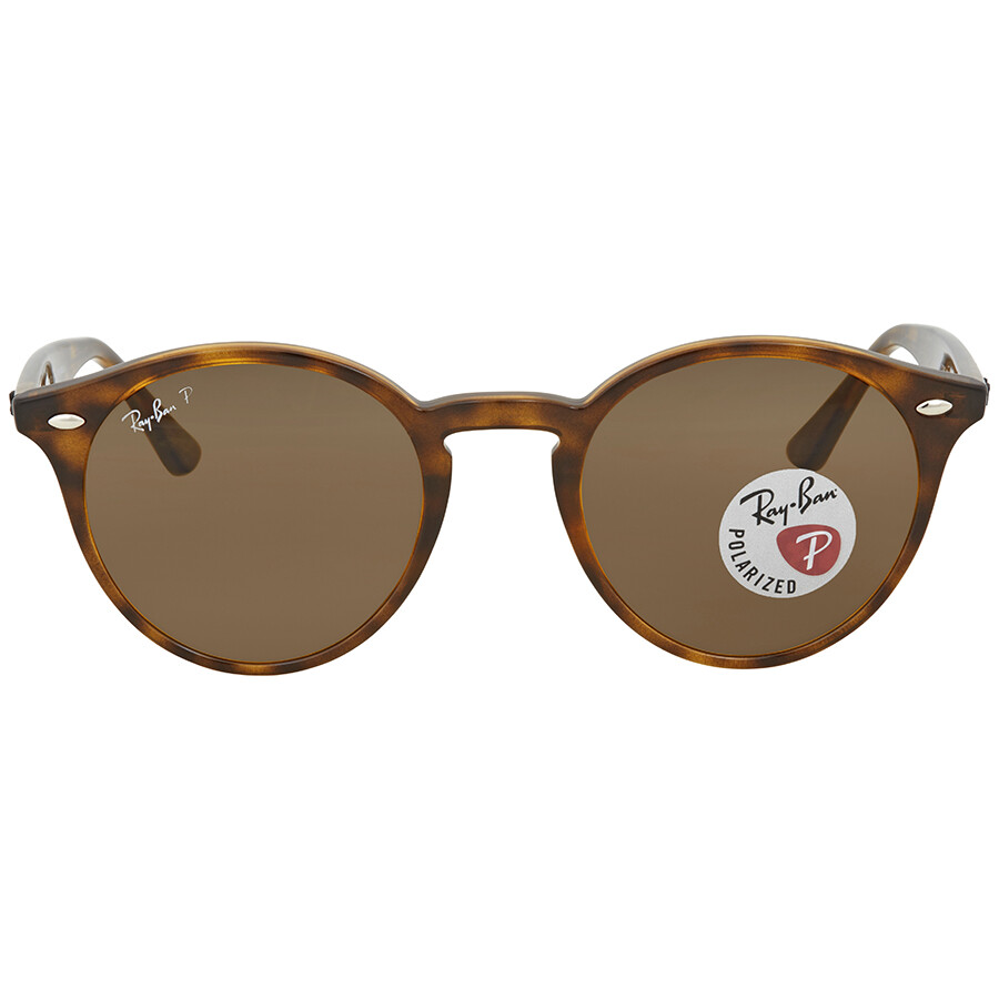 33ce7aa319 Ray Ban Polarized Brown Classic B-15 Round Sunglasses RB2180 710 83 49 ...