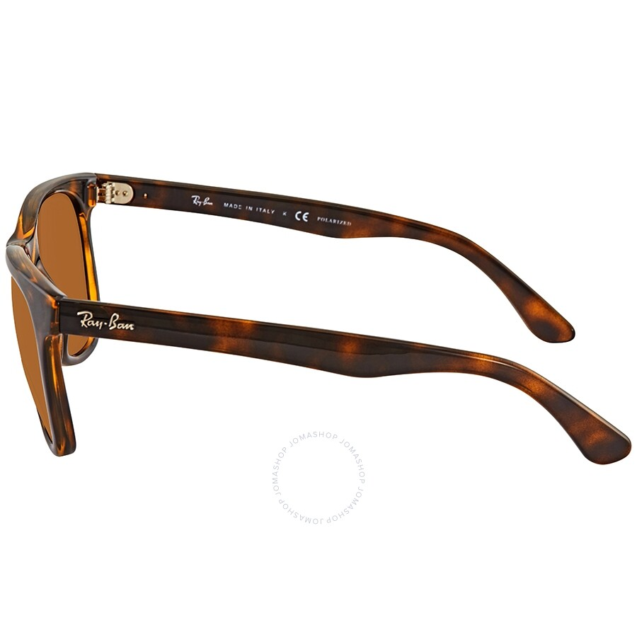 f5f7f662f1ad0 ... Ray Ban Polarized Brown Classic B-15 Square Sunglasses RB4184 710 83 54
