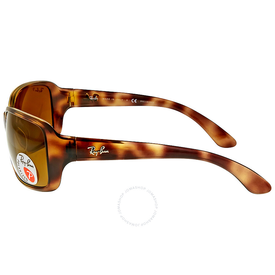 30a0c10d1b ... Ray Ban Polarized Brown Classic B-15 Ladies Sunglasses RB4068 642 57 60-