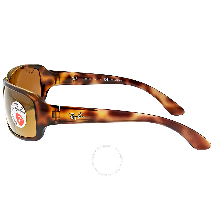 bd316c4dc34 Ray Ban Polarized Brown Classic B-15 Sunglasses RB4075 642 57 61-16 ...