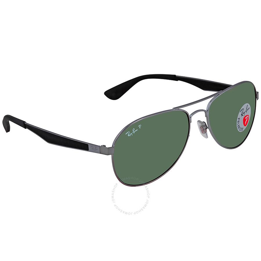76f09d7668aa Ray Ban Polarized Green Classic G-15 Aviator Sunglasses RB3549 004/9A 58 ...