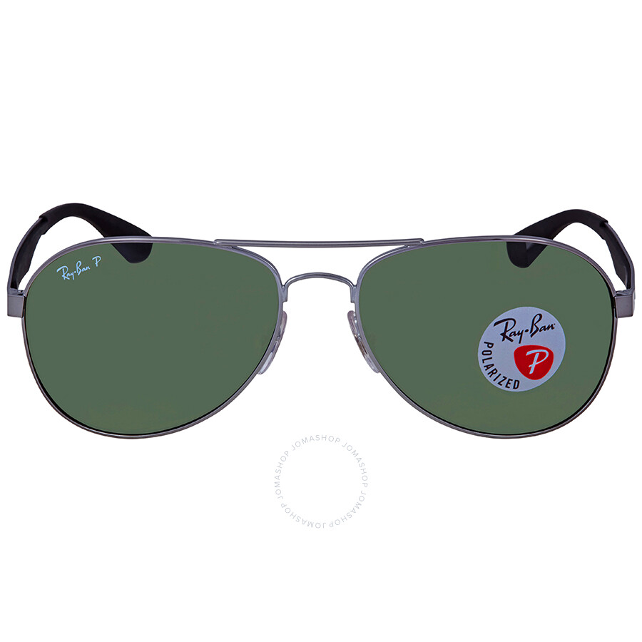 d257c4e6558f8 ... Ray Ban Polarized Green Classic G-15 Aviator Sunglasses RB3549 004 9A  58 ...