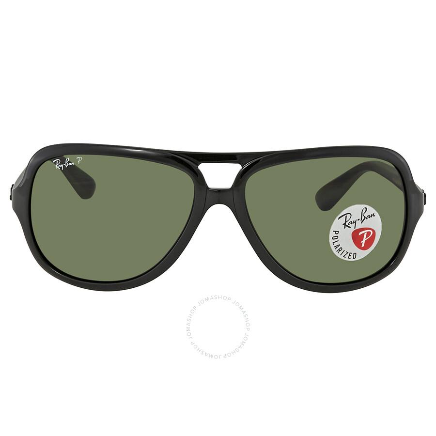 c37ebeb1f6 ... Ray Ban Polarized Green Classic G-15 Aviator Sunglasses RB4162 601 2P  59 ...