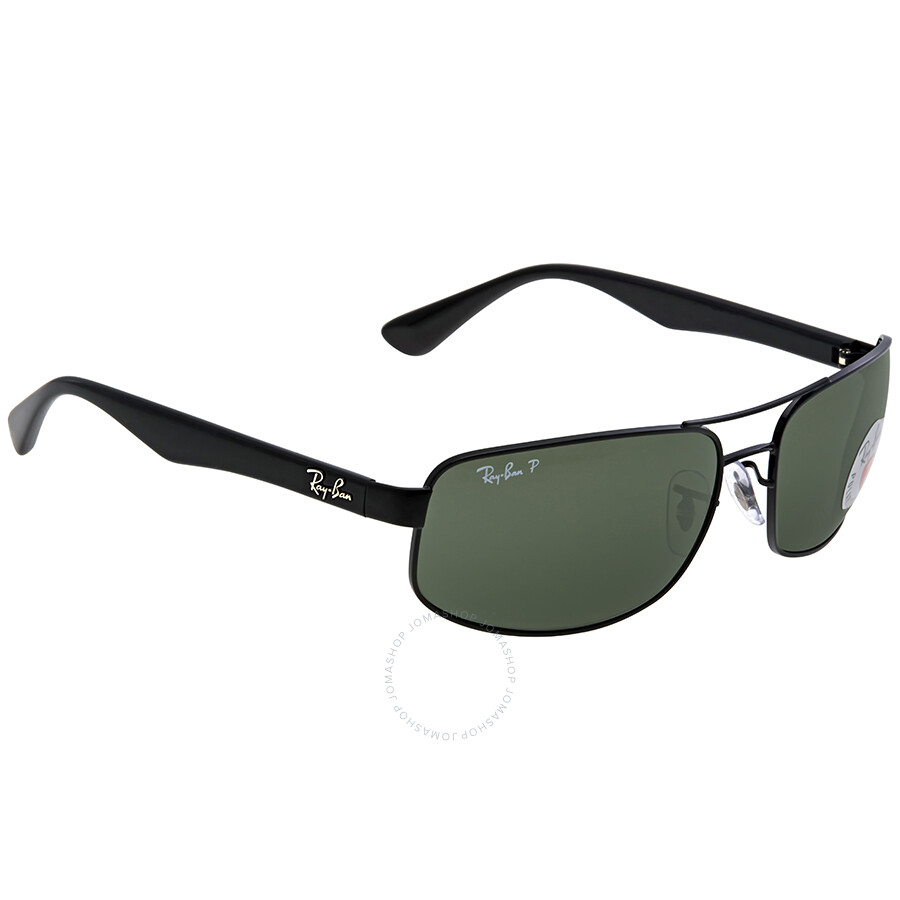 cef26232842 ... Ray Ban Polarized Green Classic G-15 Men s Sunglasses RB3445 002 58 64  ...