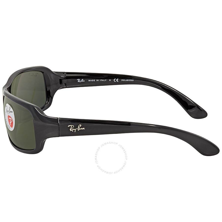 d721b0613d7 ... Ray Ban Polarized Green Classic G-15 Rectangular Sunglasses RB4075  60158 61