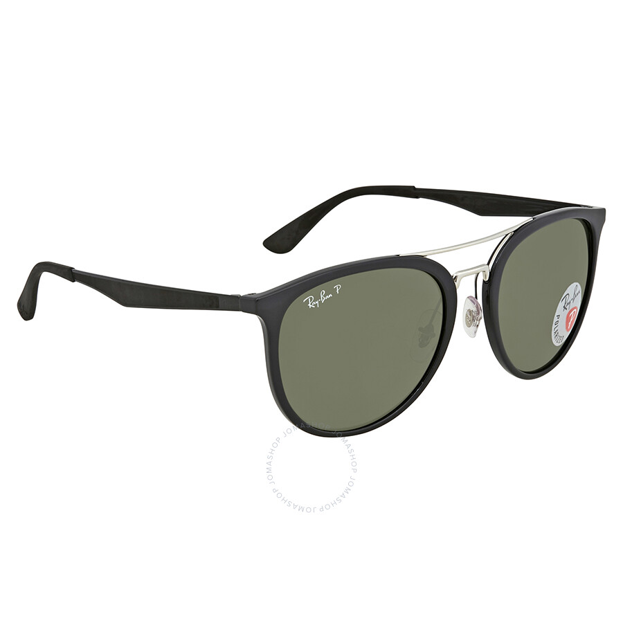 30d130f0e61 Ray Ban Polarized Green Classic G-15 Round Men s Sunglasses RB4285 601 9A  55 ...
