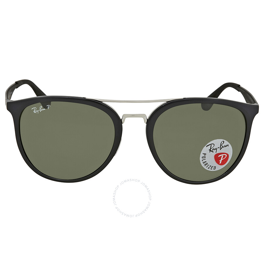 a5d01ace44 ... Ray Ban Polarized Green Classic G-15 Round Men s Sunglasses RB4285  601 9A 55 ...