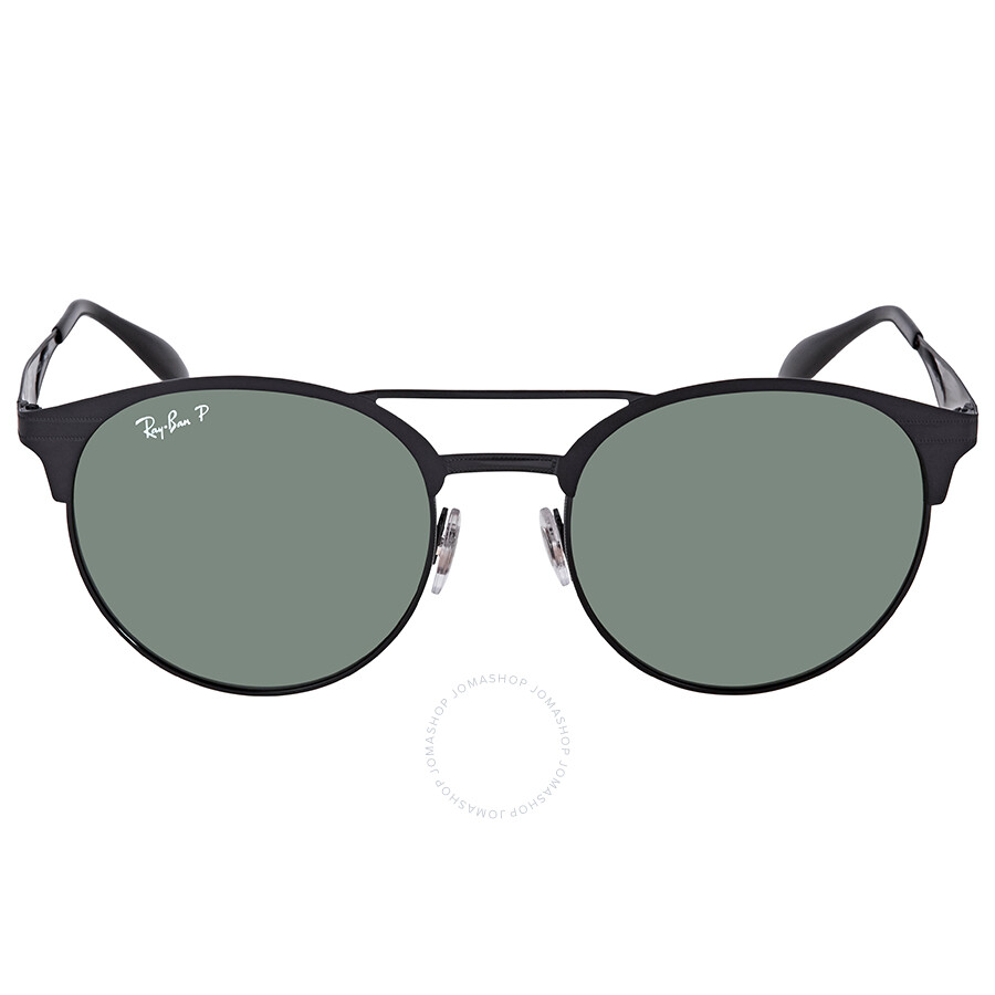a149d35034 ... Ray Ban Polarized Green Classic G-15 Round Sunglasses RB3545 186 9A 54  ...
