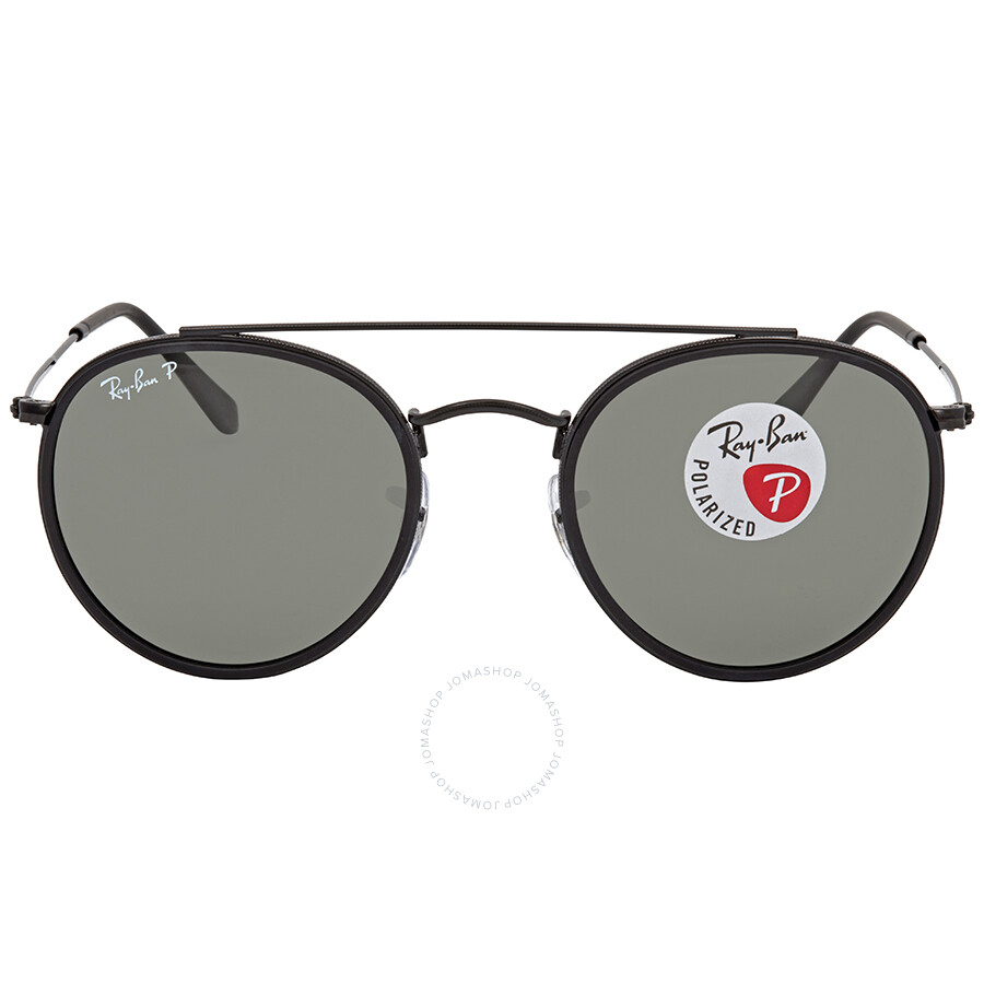 0546e206961 ... Ray Ban Polarized Green Classic G-15 Round Sunglasses RB3647N 002 58 51  ...