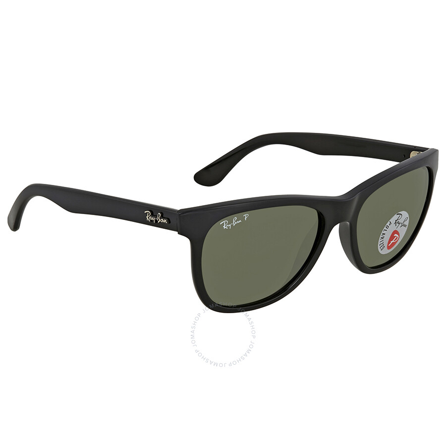 9be810f3dd213 Ray Ban Polarized Green Classic G-15 Square Sunglasses RB4184 601 9A 54 ...