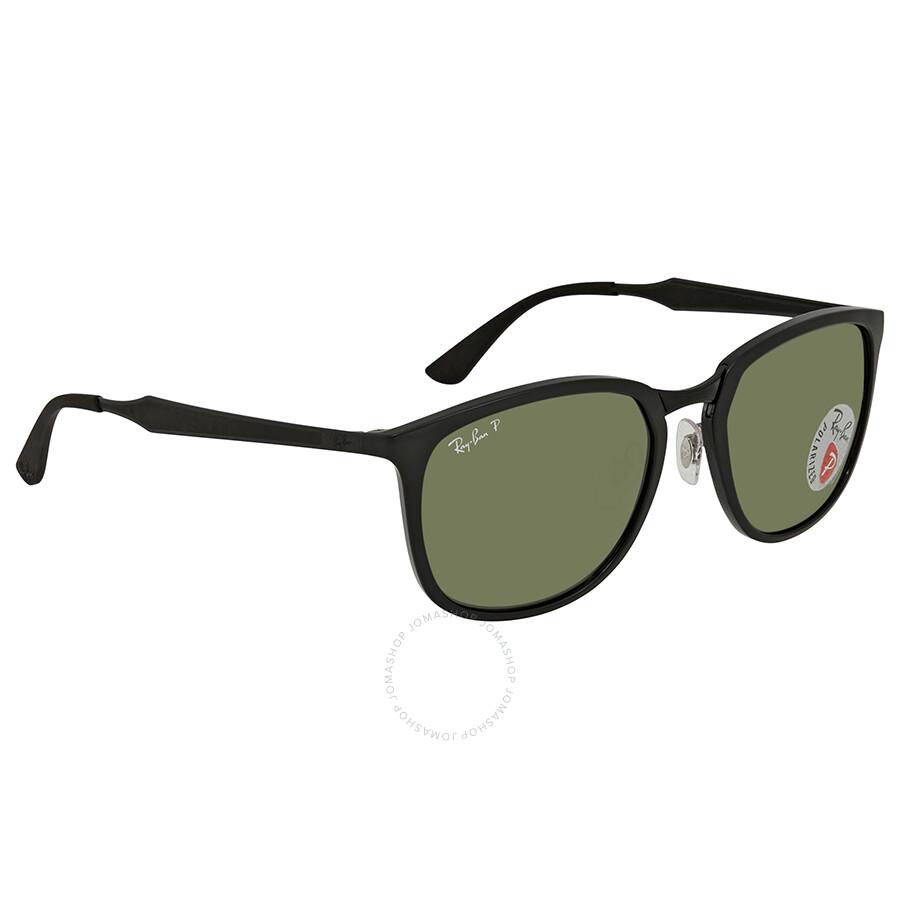 eab242a4cc Ray Ban Polarized Green Classic G-15 Square Sunglasses RB4299 601 9A 56 ...