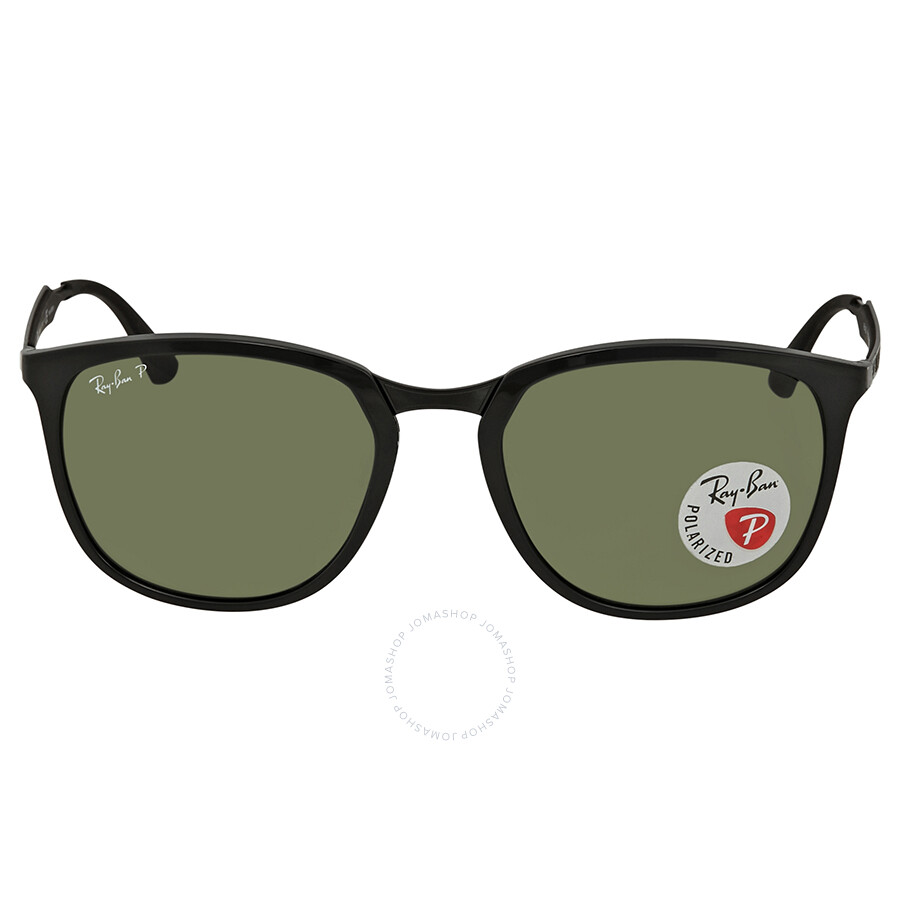 5a763db9d3 ... Ray Ban Polarized Green Classic G-15 Square Sunglasses RB4299 601 9A 56  ...