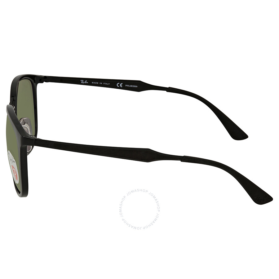 ba3905d6f3c27 ... Ray Ban Polarized Green Classic G-15 Square Sunglasses RB4299 601 9A 56