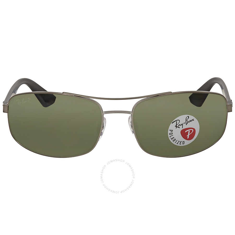 08265bfa32 Ray Ban Polarized Green Classic G-15 Sunglasses RB3527 029 9A 61 ...