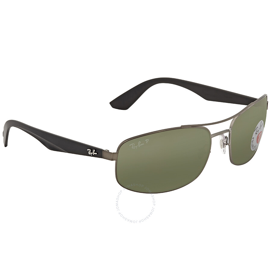 699a41377e ... Ray Ban Polarized Green Classic G-15 Sunglasses RB3527 029 9A 61 ...