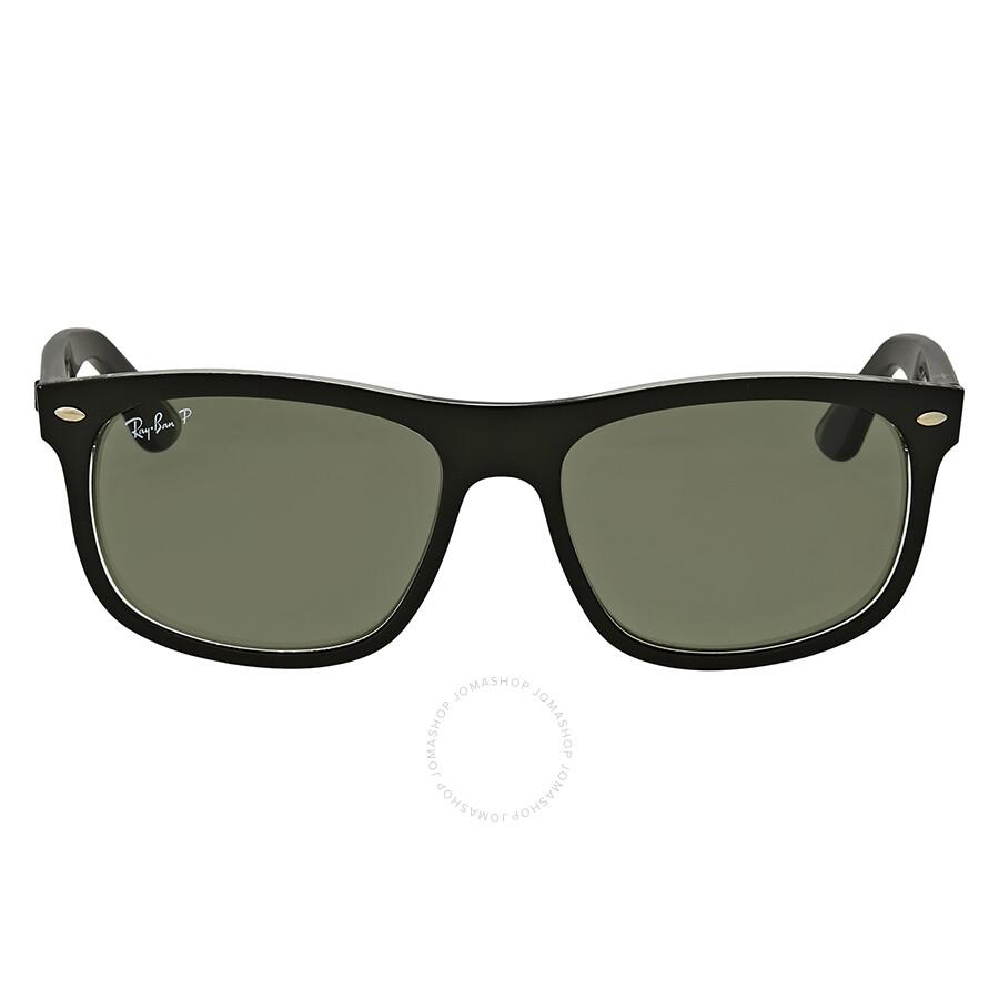 62e3651857 Ray Ban Polarized Green Classic Square Sunglasses Item No. RB4226 60529A 56