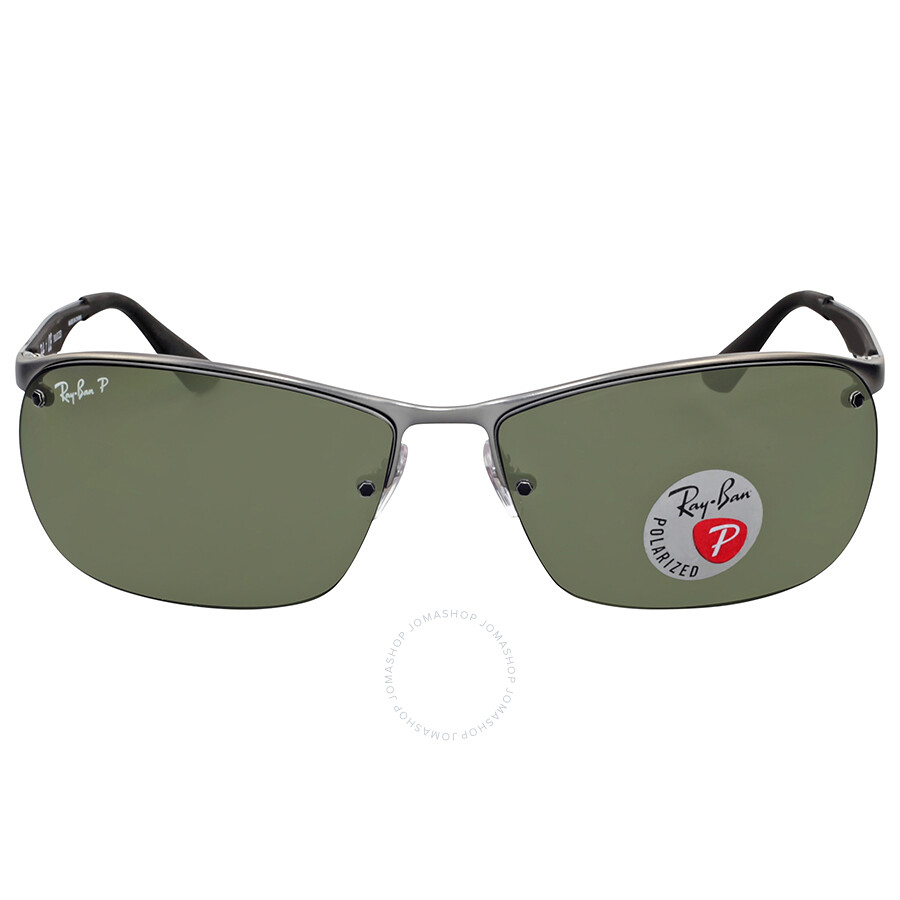 acfb6f6d38 Ray Ban Polarized Green Gunmetal Sunglasses - Ray-Ban - Sunglasses ...