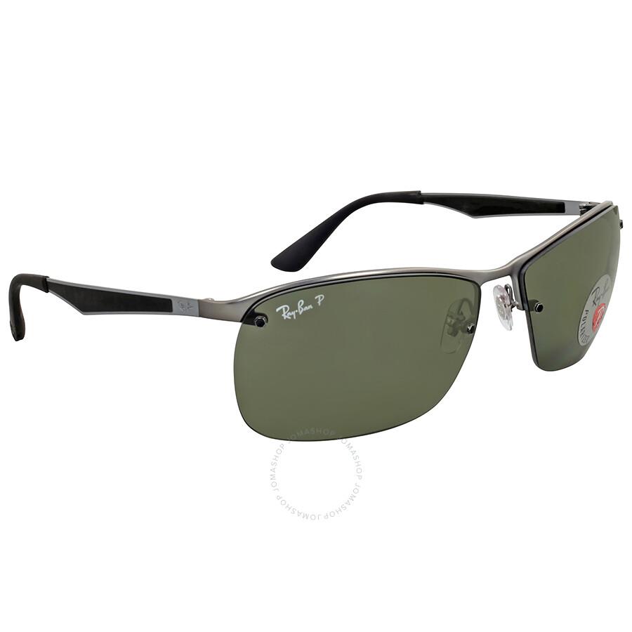 c0a63facb18 Ray Ban Polarized Green Gunmetal Sunglasses Ray Ban Polarized Green  Gunmetal Sunglasses ...