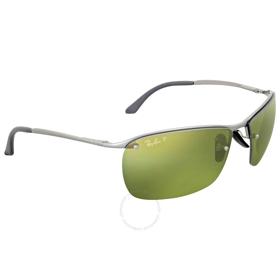 201e9b0f9f Ray Ban Polarized Green Mirror Chromance Sunglasses - Ray-Ban ...