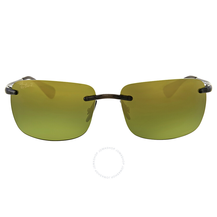 bb6a0c730fd Ray Ban Polarized Green Mirror Sunglasses Item No. RB4255 621 6O 60