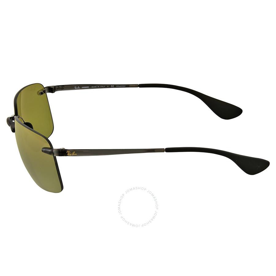 e45bc1bd5f Ray Ban Polarized Green Mirror Sunglasses Ray Ban Polarized Green Mirror  Sunglasses ...