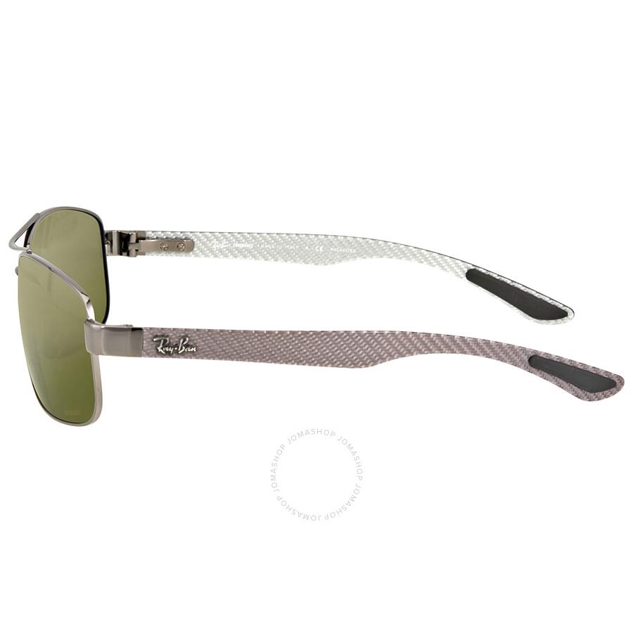 7cc7ae3944 Ray-Ban Polarized Green Mirror Sunglasses - Ray-Ban - Sunglasses ...