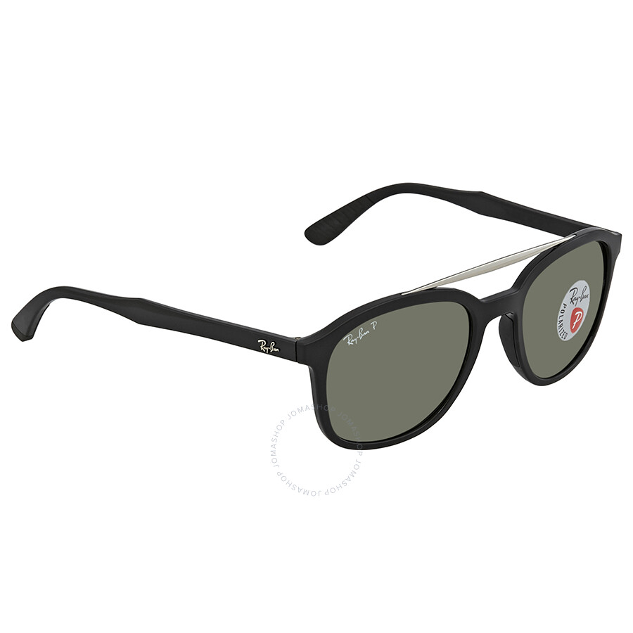 10abda64bfd Ray Ban Polarized Green Square Sunglasses RB4290 601 9A 53 - Ray-Ban ...