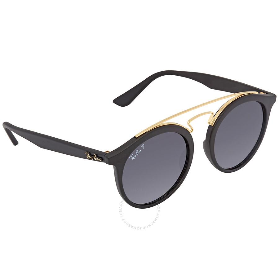 cb665251975e2 Ray Ban Polarized Grey Gradient Round Sunglasses RB4256 601ST3 49 ...