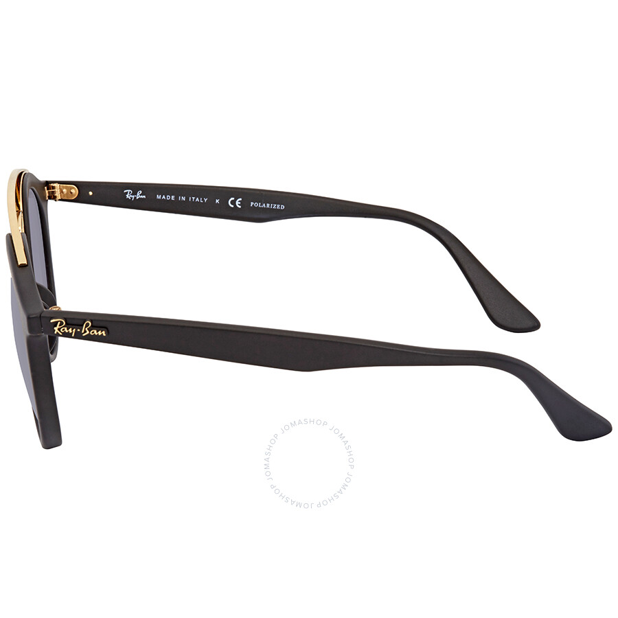 ef2cc002a9 Ray Ban Polarized Grey Gradient Round Sunglasses RB4256 601ST3 49 ...