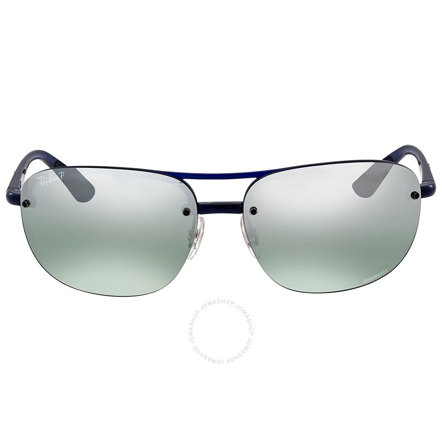 28b5cc9d28bde Ray-Ban Polarized Grey Mirror Chromance Sunglasses - Ray-Ban ...