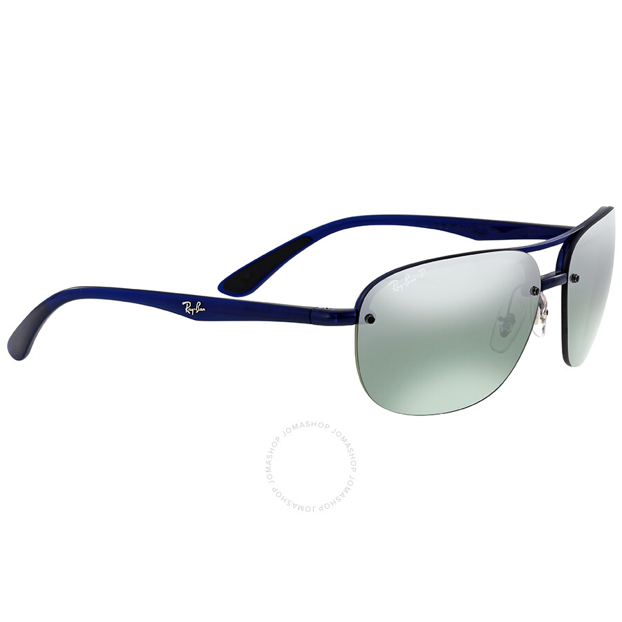 ffc76863e2 Ray-Ban Polarized Grey Mirror Chromance Sunglasses - Ray-Ban ...