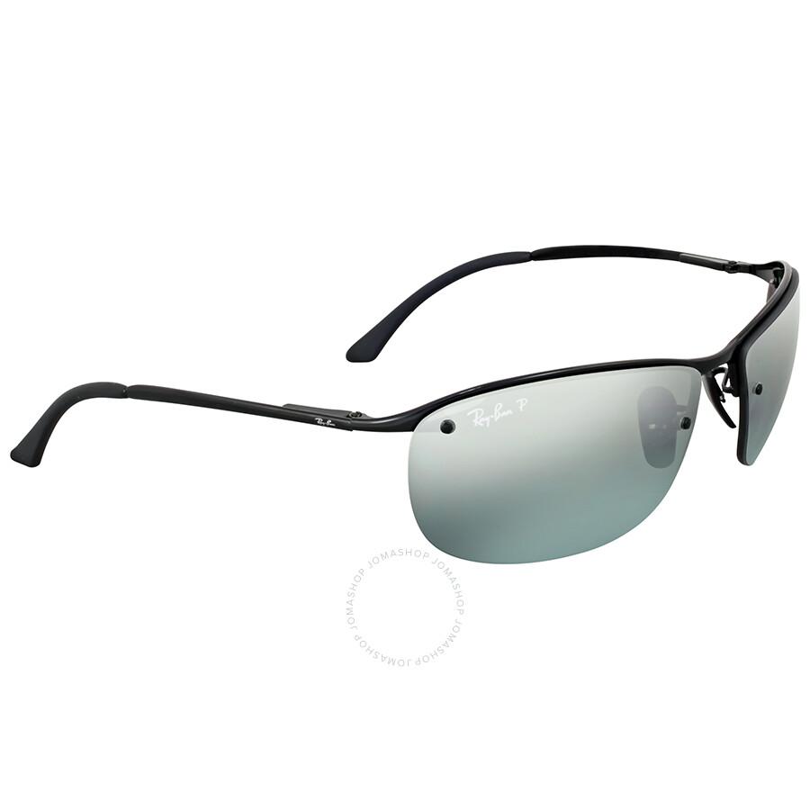 Ray ban polarized grey mirror sunglasses ray ban for Mirror sunglasses