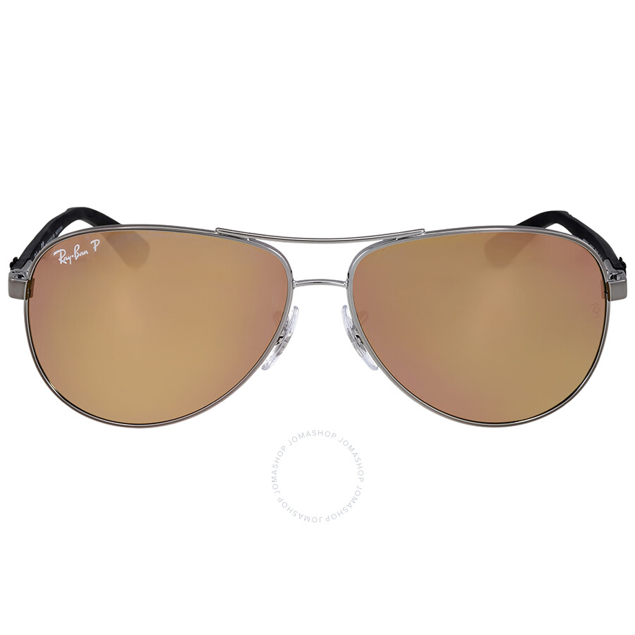 aviator ray ban polarized  Ray Ban Polarized Gunmetal Aviator Sunglasses - Ray-Ban ...