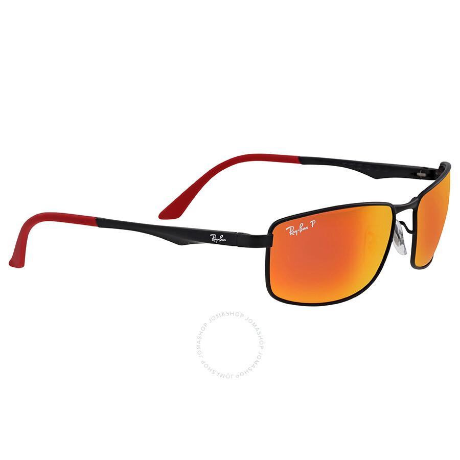 b9b8fb160c4 Ray Ban Polarized Orange Flash Sunglasses Ray Ban Polarized Orange Flash  Sunglasses ...