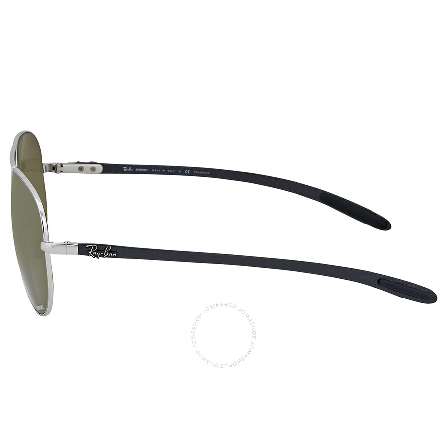 9f54cc81d1 Ray-Ban Polarized Silver Mirror Aviator Sunglasses - Aviator - Ray ...