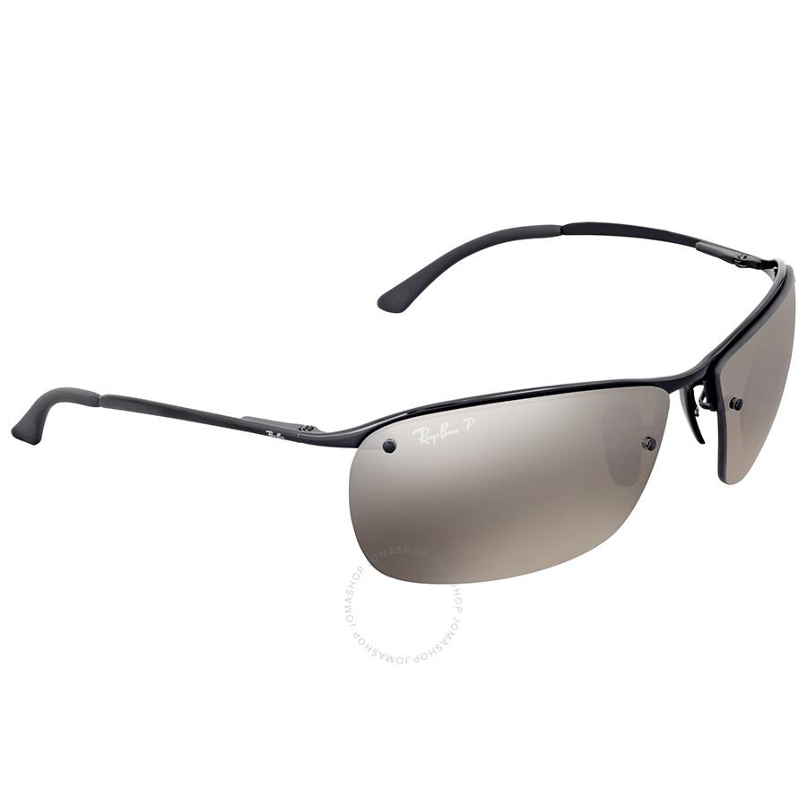 bb6e717cdf Ray Ban Polarized Silver Mirror Chromance Metal Sunglasses - Ray-Ban ...