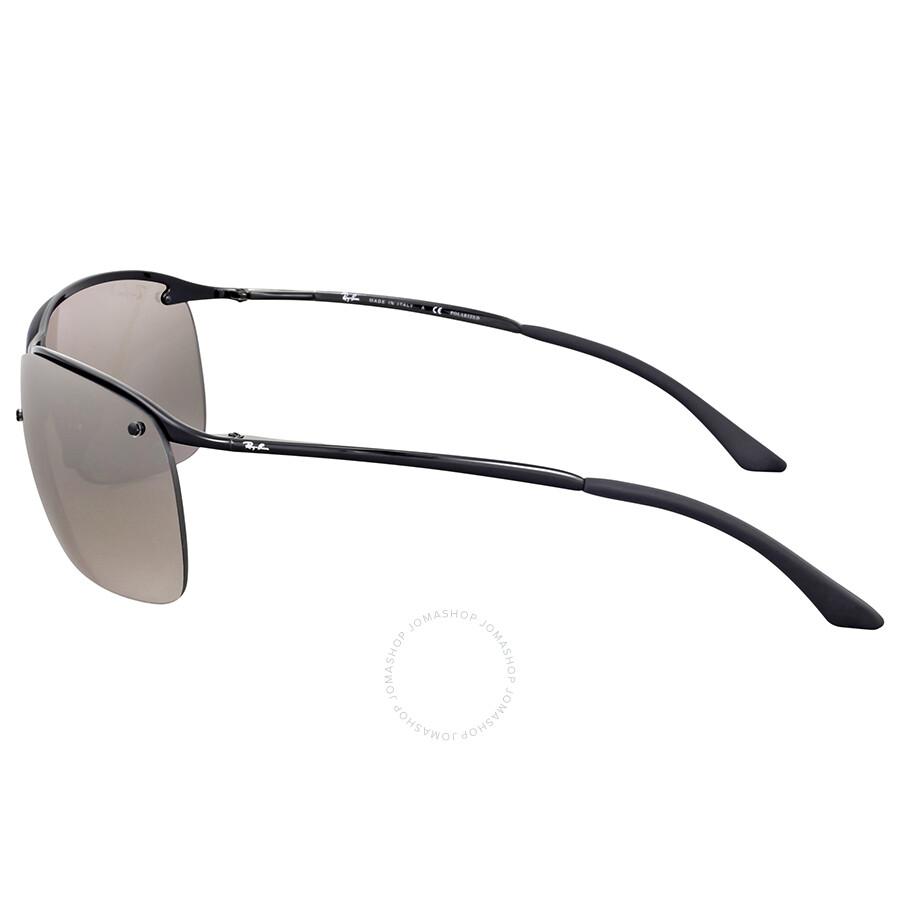 de47f2d8fd9 Ray Ban Polarized Silver Mirror Chromance Metal Sunglasses - Ray-Ban ...