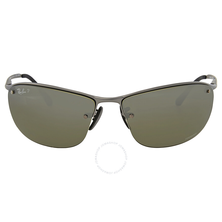 9944a91d40 Ray Ban Polarized Silver Mirror Chromance Sunglasses Item No. RB3542 029 5J  63