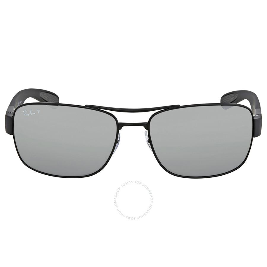 82ba5bd0549 ... Ray Ban Polarized Silver Mirror Rectangular Men s Sunglasses RB3522 006  82 61 ...