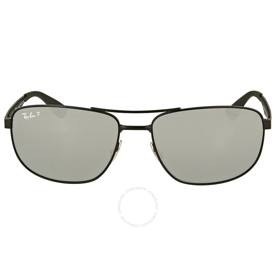 79cc16d1bb Ray Ban Polarized Silver Mirror Sunglasses RB3528 006 82 61 - Ray ...