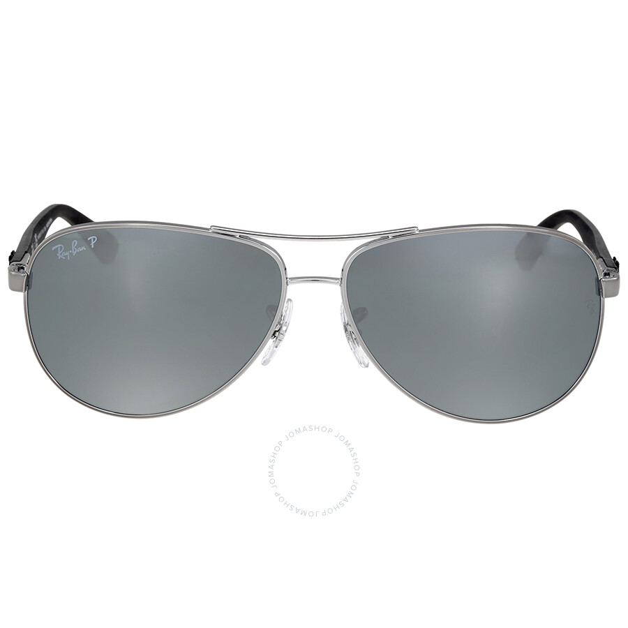 afe19f07c50 Ray Ban Polarized Silver Mirror Sunglasses - Ray-Ban - Sunglasses ...