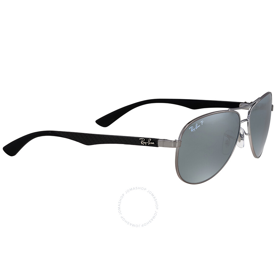 82200a82eb Ray Ban Sunglasses 3323 Silver Polarized