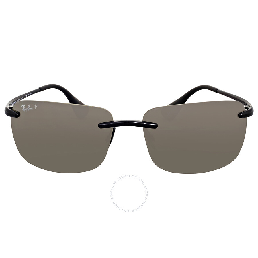 a441d06ab13 Ray Ban Polarized Silver Square Sunglasses - Ray-Ban - Sunglasses ...