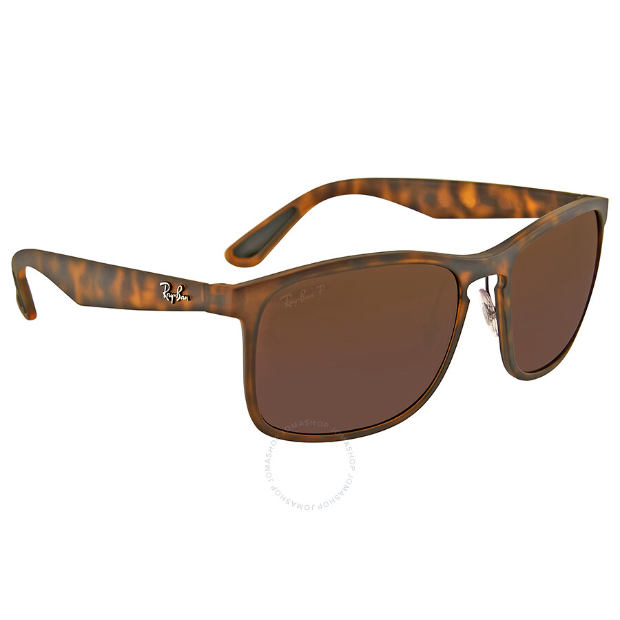 44f1eede9f Ray Ban Polarized Tortoise Square Sunglasses - Ray-Ban - Sunglasses ...