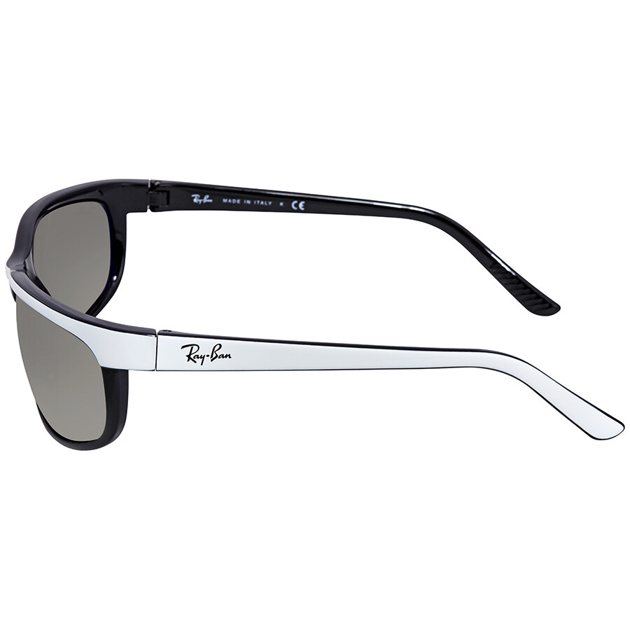 c8c509c3ee ... Ray Ban Predator 2 Clear Gradient Grey Rectangular Sunglasses RB2027  629932 62