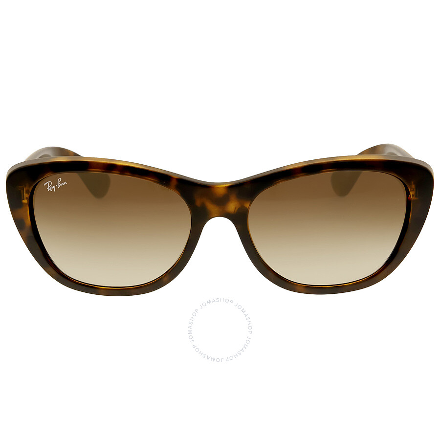 478e41e430 Ray Ban RB4227 Brown Gradient Ladies Sunglasses RB4227 710 13 55-17 ...
