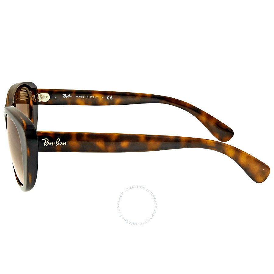 c90495fd9949 ... Ray Ban RB4227 Brown Gradient Ladies Sunglasses RB4227 710/13 55-17