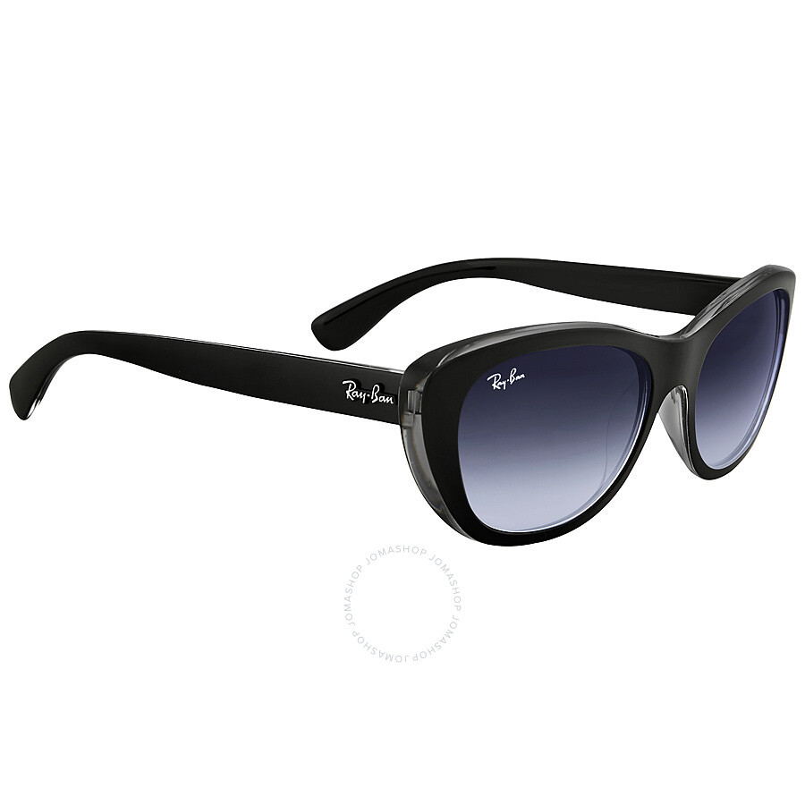 7e18f4fd67fda ... Ray Ban RB4227 Grey Gradient Sunglasses RB4227 60528G 55-14 ...